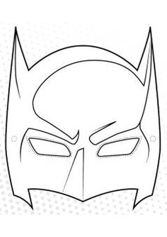 Batman Coloring Pages. Many children, especially boys like and even idolize the character of superheroes. One of their favorite one is Batman. Batman is a super Batman Coloring Pages, Coloring Pages For Kids, Superhero Mask Template, Carnival Crafts, Masque Halloween, Batman Collectibles, Printable Masks, Free Printable