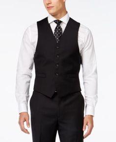 Lauren Ralph Lauren Black Solid Classic-Fit Suit Separates