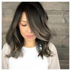 "68 Likes, 4 Comments - Pasadena | LA | OC Hairstylist (@ruthtedmorihair) on Instagram: ""OMG! Her hair turned out so good. We used @kenraprofessional to achieve this smoky tone. #grey…"""