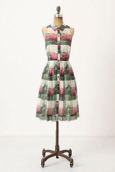Anthropologie Sarah Ball Photography Dress #Anthropologie #ShirtDress