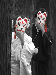 Aesthetic Japan, Japanese Aesthetic, Couple Aesthetic, Japanese Couple, Cute Japanese, Mask Japanese, Character Inspiration, Character Design, Drawing Poses Male