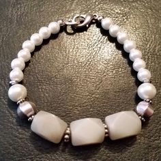Pearls and Greystone by GreenePumpkins on Etsy
