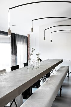 Community Style Dining Table