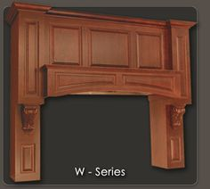 ... Colorado Creative Cabinetry Kitchen. See More. W Series Range Hood In  Cherry Wood