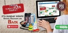 Lowest Price Online Deals  4  U: Sunday Flea Market upto 90% Off – ShopClues