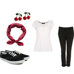 Easy rockabilly look - Polyvore