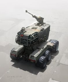 Concept vehicle art by Khang Le