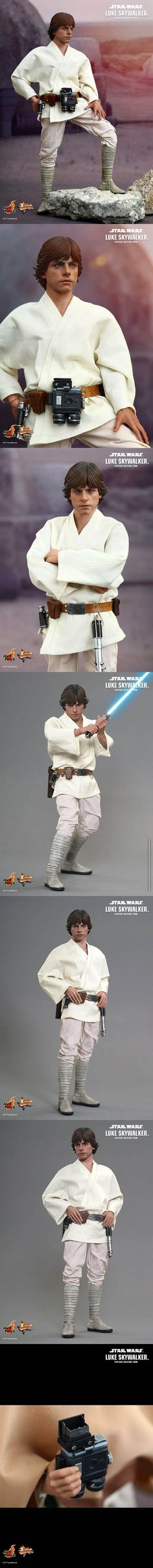 [Star Wars: Episode IV A New Hope: 1/6th scale Luke Skywalker Collectible Figure ]