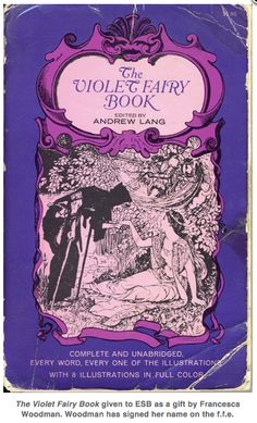the violet fairy book (a gift from francesca woodman)