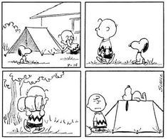 This Peanuts strip is from August 14, 1964