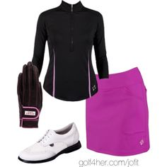 Ladies Golf OOTD: Redondo Beach Set
