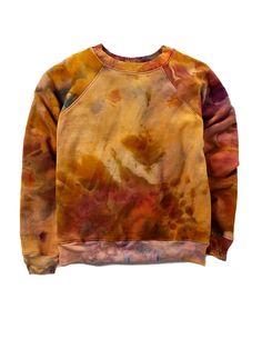 Raglan Crew in Sunset – riverside tool & dye Diy Tie Dye Shirts, Bleach Shirts, Potpourri, Art Cart, Bleach Dye, Ice Dyeing, Raglan, Tye Dye, Fall Looks