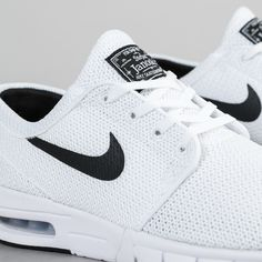 huge selection of fd9fb 2c161 Nike SB Stefan Janoski Max Shoes - White   Black Sb Stefan Janoski Max,  Skate