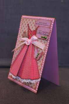Dress Card - Pour Elana
