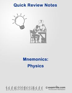 Mcat biology chemistry and physics mnemonics handbook quick review mnemonics for physics students fandeluxe Gallery