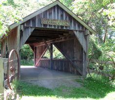 Covered bridge photo