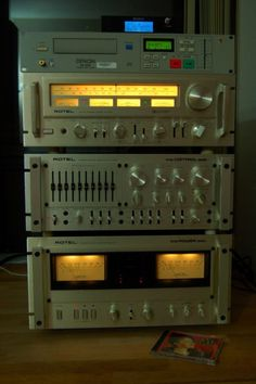 ROTEL RB-5000, RC5000 & RT-1024
