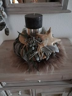 Black Christmas, Christmas Time, Xmas, Black Candles, Christmas Centerpieces, Pottery Barn, Witch, Candle Holders, Wreaths