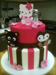 Hello Kitty! Birthday Cake
