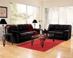 Home Design and Interior Design Gallery of Black Cheap Living Room Furniture Sets