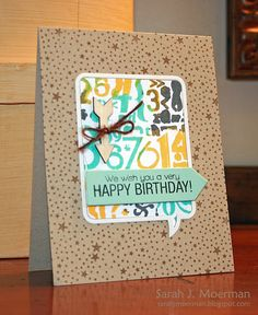 images hero arts happy birthday stamp | Happy Birthday, Men!... (and some new Kelly Purkey over at Simon Says ...