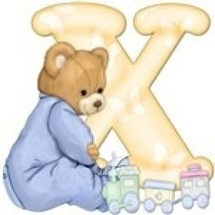 The capital letter D with teddy bear | Cute Printables | Pinterest ...
