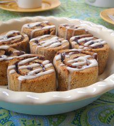 Gluten Free Cinnamon Rolls - The Spunky Coconut #paleo #cinnamonrolls #paleobaking