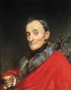 Карл Брюллов Портрет археолога Македанджело Ланчи. 1851