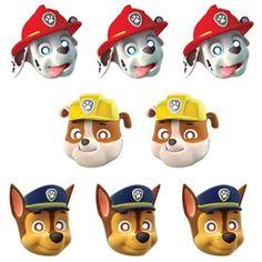 Paw Patrol Masks | 8 ct