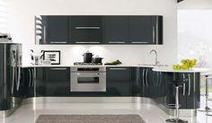 El negro en una cocina