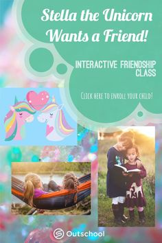 An Outschool Class for ages 6-8, students will use critical thinking skills and learn about friendship at the same time! Stella the Unicorn moved to the Enchanted Forest and wants to find a friend! Learners will hear forest creatures introduce themselves, then make inferences to decide which creature should be Stella's friend. Click here for more information and to enroll! Critical Thinking Activities, Critical Thinking Skills, Fun Learning, Homeschool Curriculum, Homeschooling, 5th Grade Teachers, Reading Comprehension Activities, Forest Creatures, Phonemic Awareness