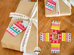 Geschenkanhänger mit Masking Tape selber basteln Gift Tags DIY http://spoonandkey.blogspot.de/2014/11/geschenkanhanger-mit-masking-tape-basteln.html