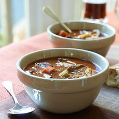 This stew is full of hearty ingredients and is the perfect comfort food when it's cold out. Not big on venison? Substitute elk or beef stew meat. Venison Recipes, Slow Cooker Recipes, Crockpot Recipes, Cooking Recipes, Advocare Recipes, Deer Recipes, Game Recipes, Slow Cooker Venison, Venison Meat