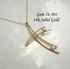Big Gold Cross,Hollow gold cross,floating gold cross,14k solid gold cross necklace,modern gold cross,personalized gold cross,cross pendant