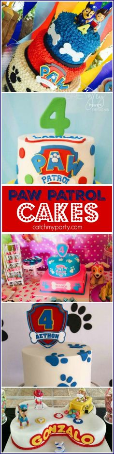 You must see these 5 Amazing Paw Patrol Birthday Cakes! | CatchMyParty.com