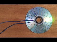 Free Energy 100% , How make solar cell from CD flat - YouTube