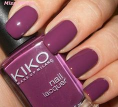 Image result for kiko glossy red nail lacquer