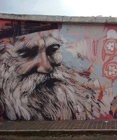 Undo the Dry Spell: Street Art 2 Elder Thaddeus (Tadej) of Vitovnica