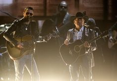 Best and Worst of the 2014 CMA Awards - Worst: George Strait with Eric Church  Thou shalt not try to out-sing George. That's the 11th amendment!!!!!