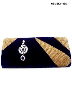 $25 Sparkling Velvet Clutch Bag From Cbazaar