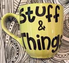 """This """"Stuff & Things"""" Mug:   27 Gifts Only True """"Walking Dead"""" Fans Will Appreciate"""