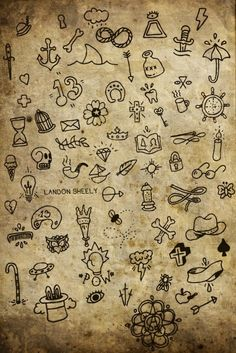 Great ideas for finger tattoos .. have some in mind!! .. HP thunder .. UFO .. ooh the possibilities are endless!!
