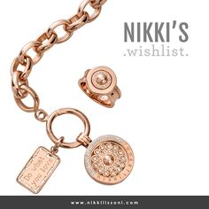 One of my all time favourites in rose gold with pearls... Is it on your wishlist? -xx- Nikki