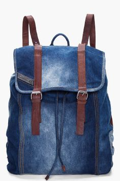 Indigo Denim Backpack                                                                                                                                                                                 More