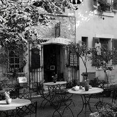 Tea Shop in Vence, France.