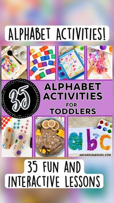 Preschool Learning Activities, Alphabet Activities, Fun Activities For Kids, Preschool Activities, Letter Games, Educational Crafts, Letter A Crafts, Learning The Alphabet, Letter Recognition