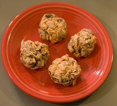vegan sausage balls by whammygirl, via Flickr