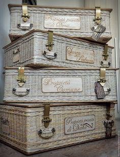 """Купить Комплект плетеных сундуков """"Proprieta Comune"""" (система хранения)…"""