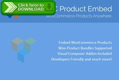 [ThemeForest]Free nulled download WooCommerce Product Embed from http://zippyfile.download/f.php?id=58017 Tags: ecommerce, addon widget, composer addon, cornerstone, custom addon, inline product, product embed, shortcode, vc addon, woocommerce, WooCommerce addon