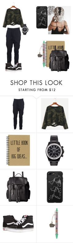"""""""Decembers 2nd look"""" by maggsxix on Polyvore featuring Y-3, Mad Collections, Dr. Martens, Casetify, Vans and Pusheen"""